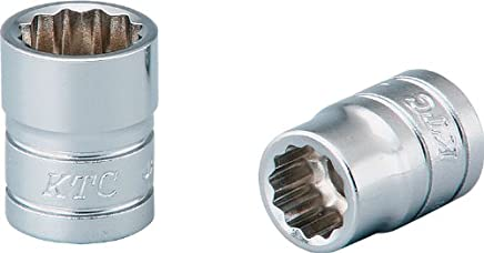 Kyotokikaikogu (KTC) socket 12 square B21132W plug angle: 6.3mm × total length: 18.5mm × opposite side size: 11/32 inch