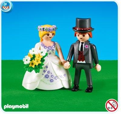 Playmobil 7497–novia y novio