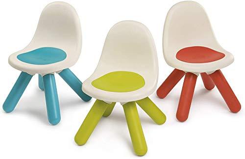 Smoby Kid-Sedie, Colore Blu,Verde,Rosso, 7600880100