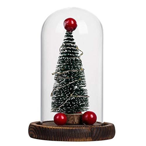 Why Choose GOTDCO. Creative Micro Landscape Happy Christmas Tree,Romantic LED Light Creative Christm...