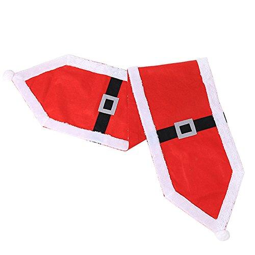 Westeng Corredor Mesa de Navidad Camino de Mesa de Hogar Mantel Banner Decoración de Navidad de Boda Size 35 *...