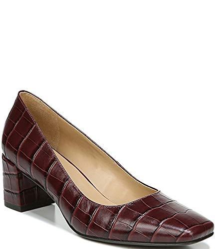 [ナチュライザー Naturalizer] シューズ 25.0 cm パンプス Karina Croc Embossed Leather Block Heel Cabsav Cro レディース [並行輸入品]