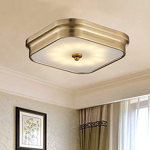 ZXJUAN plafondlamp Moderne Amerikaanse ultradunne plafond eenvoudig sfeervolle ruimte kleine woonkamer kroonluchter eetkamer slaapkamer LED-lampen (39 * 7 cm)