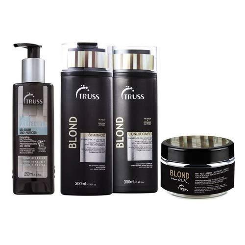 Truss Blond Sh 300ml + Cd 300ml + Mask 180g + Hair Protector
