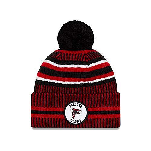 New Era Herren Atlanta Falcons Beanie, Black, One Size
