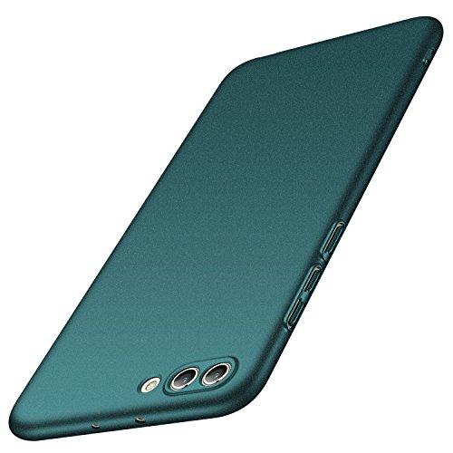 Anccer Cover Huawei Honor View 10, Cover Huawei Honor V10 [Serie Colorato] di Gomma Rigida Protezione Da Cadute e Urti Huawei Honor View 10 / Honor V10 (Ghiaia verde)