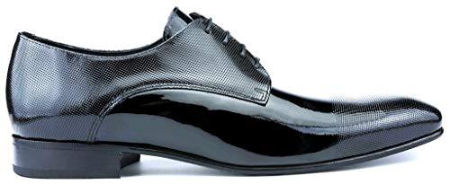 SERGIO SERRANO Zapatos Novio Charol LUXORY de la Talla 45 en Color...