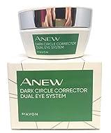 Avon Anew Dark Circle Corrector Dual Eye System 2 Phase Care Against Dark Circles 20 ml