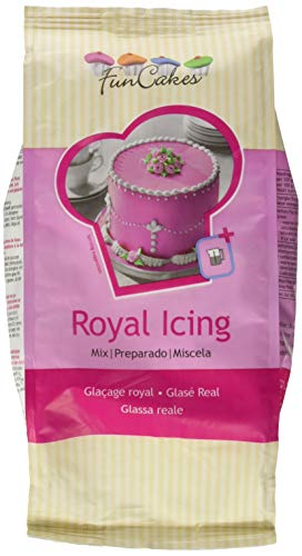 FunCakes Mix für Royal Icing, 1er Pack (1 x 900g), Fertigmischung