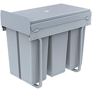 1home Recycle Bin Pull Out Kitchen Cupboard Waste Dust Bin (30 Litre):Kostenlosefilme