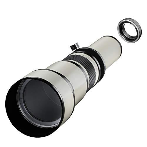 Samyang MF - Cámara réflex Digital (650-1300 mm, F8.0-16.0, Minolta MD)