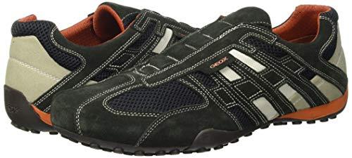 Geox UOMO SNAKE L, Herren Sneakers, Grau - 7