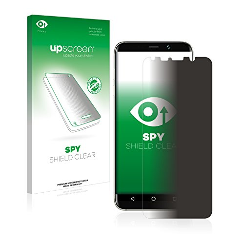upscreen Anti-Spy Blickschutzfolie kompatibel mit Bluboo S8 Plus Privacy Screen Sichtschutz Bildschirmschutz-Folie