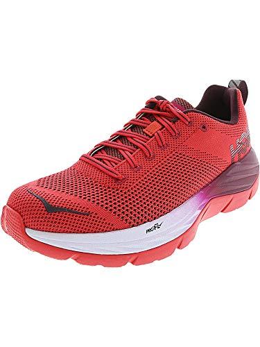 Hoka One - Zapatillas de Running de Material Sintético para Mujer Rojo...