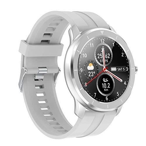 Exquisito, Hermoso, decente, novedoso y único. Smart Watch IP68 Modo Multi-Sport Mode Monitor Monitor Mujer MOVERÍSTICO Universal (Color : White)