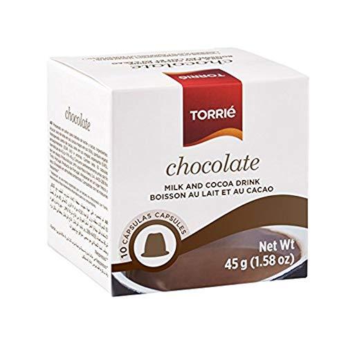 TORRIÉ CAFÉ Nespressokapseln kompatibel - CHOCOLATE / Schokolade - 4 x 10 kapseln (gesamt: 40 st)