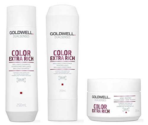 Goldwell Dualsenses Color Extra Rich SET Shampoo 250ml + Conditioner 200ml + 60sec Treatment 200ml