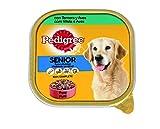 Tarrina para perros senior de ternera y aves 300g (Pack de 20)