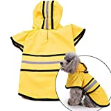 ◆ PREMIUM QUALITY - The VaygWay Pet Dog Raincoat is made with Premium Quality Professional outdoor material with high waterproof and high brethable quality that ensures durability and longevity. ◆ FASHIONABLE - The VaygWay Pet Dog Raincoat not just p...