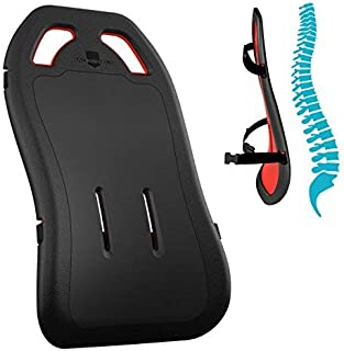 New Innovative Design Supports Entire Spine | Total Back Support | Improve Posture | Works on Office Chairs & Car Seats | Sit Pain Free with Full Lumbar Support | Sciatica Relief | Doctor Recommended