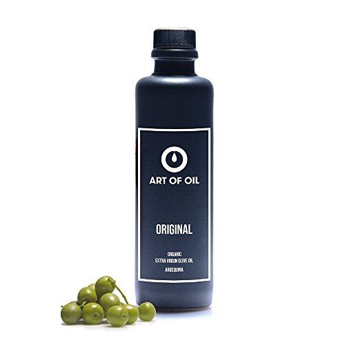 Olivenöl Kaltgepresst von ART OF OIL ORIGINAL | 200ml BIO Olivenöl Kaltgepresst aus Spanien | Perfekter Begleiter für Mediterrane Küche