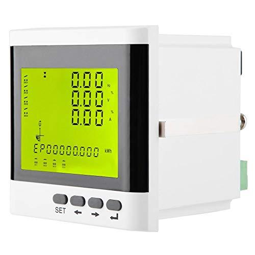 Digitaler Amperemeter Leistungsmesser Watt Aktiv Dreiphasiger Stromzähler Voltmeter LED für elektrische Parameter zur vollständigen Überwachung für das Management