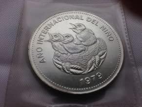 1979 Costa Rica Silver 100 Colones