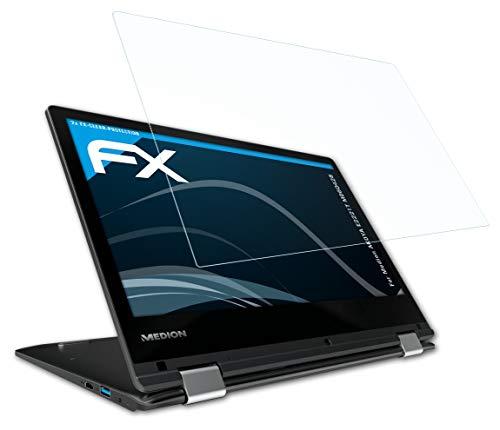 atFolix Schutzfolie kompatibel mit Medion AKOYA E2221T MD60428 Folie, ultraklare FX Bildschirmschutzfolie (2X)