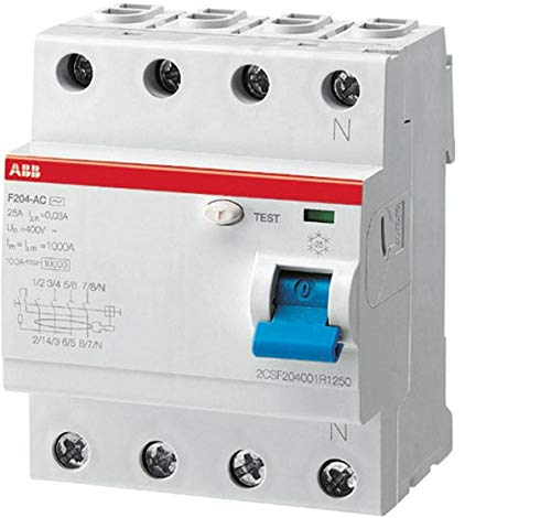 abb-entrelec f204as-40/0,3 – Differential F204 A S 40 A 300 mA