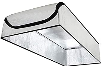 SmartATTIC - 25 x54 x11  Attic Door Insulation Cover R-15 - Pure Aluminum