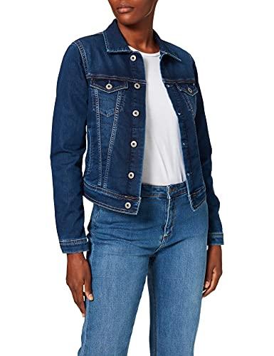 Pepe Jeans Core Jacket PL400654 Chaqueta Vaquera, Azul (Gymdigo Medium Used Denim Gt1), Mujer