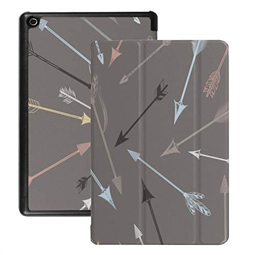 Kindle Fire 8 Hd Case Aufregender Wettbewerb Sport Darts Case für Fire Tablet 8 Hd (Version 2018 2017 2016, 8./7 ./6. Generation) Mit Auto Wake/Sleep