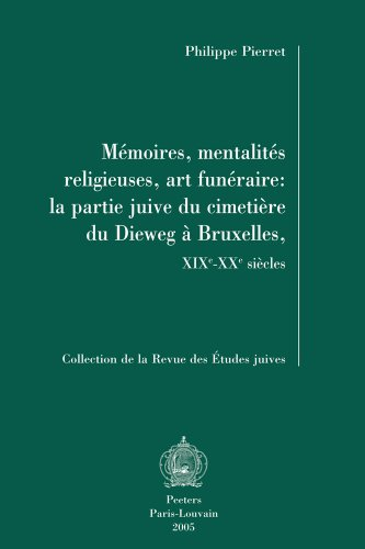 FRE-MEMOIRES MENTALITES RELIGI (Collection De La Revue Des Etudes Juives, Band 34)
