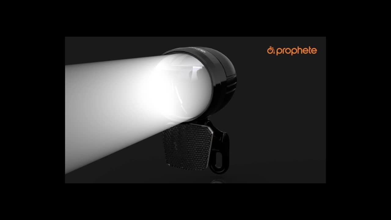 Prophete Led Scheinwerfer 100 Lux Sensorautomatik Schwarz M Sport Freizeit