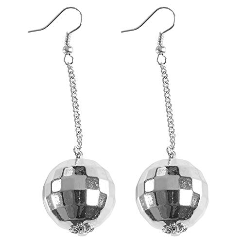 Widmann 03526 oorbellen discobol, dames, zilver, één maat