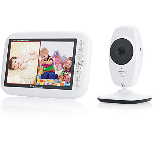 Great Price! TONGTONG 7.0 Inch Baby Monitor Wireless Video Color Baby Nanny Security Camera 2 Way Au...