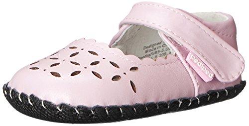 Pediped  Katelyn, Baby Mädchen Krabbelschuhe & Puschen, Pink (Pearl Pink), 6-12 mois