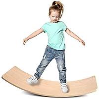 KDB 35 Inch Wooden Wobble Balance Board