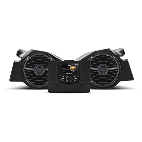 Rockford Fosgate RZR-STAGE2 Stereo and Front Speaker Kit for Select 2014-2018 Polaris RZR Models