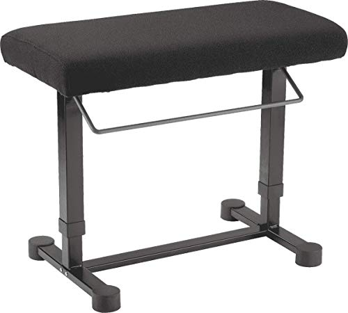 Check Out This K&M Stands 14081 Piano Bench »Uplift« (Black Fabric)
