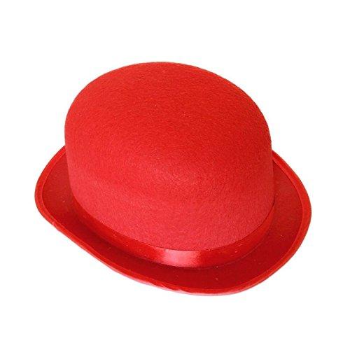 Bombn Rojo Adulto de Fieltro