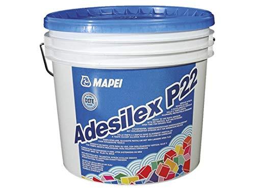 Adesivo per piastrelle ceramiche 5Kg Adesilex P22 Mapei