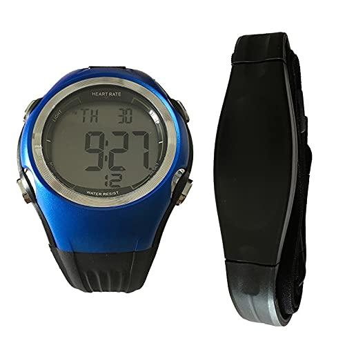 GUILING Reloj Relojes Deportivos al Aire Libre Correa frecuencia cardíaca Reloj con Monitor de frecuencia cardíaca Medidor de Pulso de frecuencia cardíaca Cinturón para el Pecho