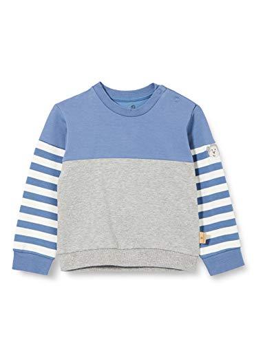Bellybutton mother nature & me Baby-Jungen Sweatshirt T-Shirt, Moonlight Blue|Blue, 86
