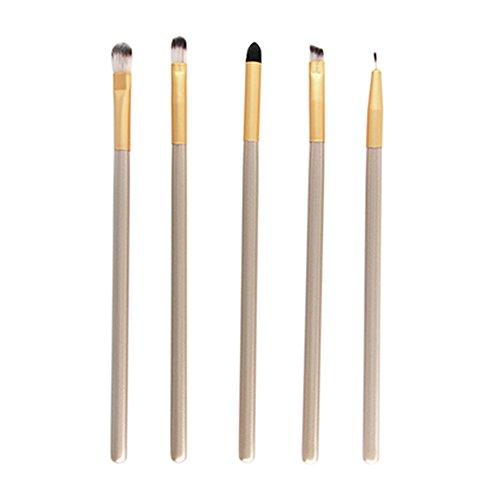 Nikgic Make up Pinsel Set Profi Kosmetikpinsel Lidschattenpinsel Schminkpinsel Smokey Makeup 5...