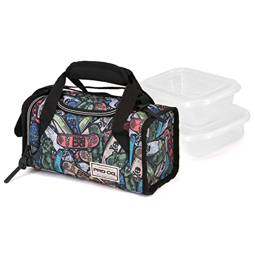 PRODG PRODG Skate Pile-Mailbox Lunchpaket Cartella, 25 cm, Multicolore (Multicolour)