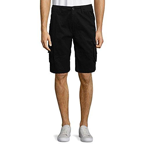 Uomo Doppio Piani Asciugatura Veloce Pantaloncini con Nascosto Cellulare Tasca