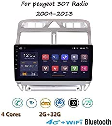 YLCCC pour Peugeot 307 2004-2013 Android 8.1 GPS N
