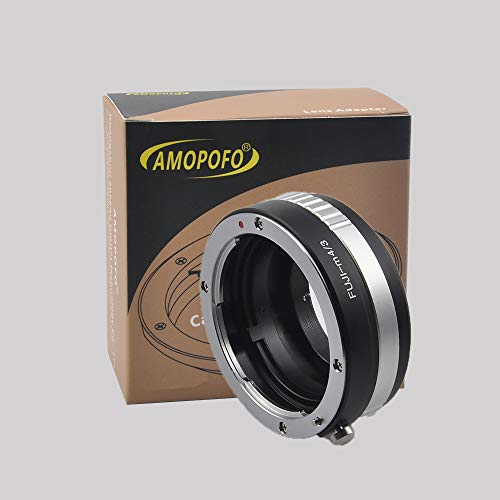 Compatible con Objetivos Canon FD, EOS EF, FX, MD, CY, M42, Micro 4/3 M4/3 Adaptador LUMIX GX7 GF6 GH3 G5 G3 y para Olympus OM-D E-M1 E-P5