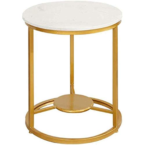 LYYJIAJU Small Coffee Tables Living Room Small Coffee Table - Oval Clear Coffee Table End Table Top Small Side Table Corner Table for Living Room Bedroom Office (Color : A)